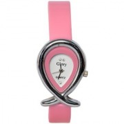 Women Fancy Designer Pink Analog GirlsLadies Watches 7Star