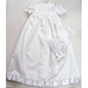 Celtic cross Christening Gown