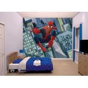 Spiderman Spider-Man tapet - Walltastic Spiderman 3D Barntapet 43824