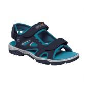 Regatta Womens Holcombe Vented Summer Walking Sandals - Navy - Size: 3