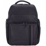 Piquadro Black Square Sac à dos cuir 42 cm compartiment Laptop
