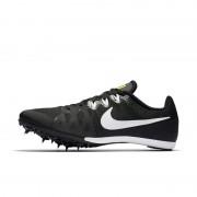 Chaussure de course longue distanceà pointes mixte Nike Zoom Rival M 8 - Noir
