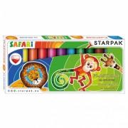 Plastilina Starpak Safari, 12 culori
