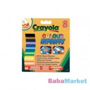 Crayola lemosható vastag filc fehér táblára 8 darab