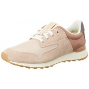 Clarks Women's Floura Mix Pink Leather Sport Running Shoes - 5 UK/India (38 EU)