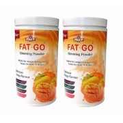 Jolly Fat Go Slimming Powder - Natural Fat Burner - With Delicious Mango Flavour (Pack Of 2)