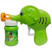 Hand Pressing Bubble Making Toy Gun (Color and Design May Vary)