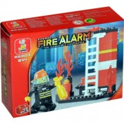 Sluban SLUBAN EMERGENCY FIRE ALARM THE INCREDIBLE FIREFIGHTER 40 PIECE SET LEGO COMPATIBLE