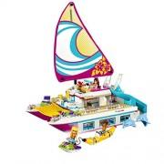 Girl Series Building Blocks toys Sunshine Catamaran kids Bricks toy - 651pcs