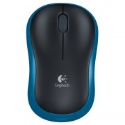 Logitech Wireless Rato M185 Azul