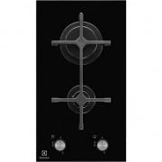 Plita Incorporabila Electrolux EGC3322NVK, Gaz, 2 arzatoare, 29 cm, Negru