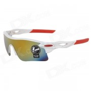 Gafas de sol de marco OULAIOU Proteccion UV400 plastico Lente PC - Multicolor