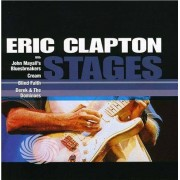 Video Delta Clapton,Eric - Stages - CD