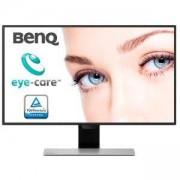 Монитор BenQ GW2780, 27 инча Wide IPS LED, 5ms GTG, 1000:1, 12M:1 DCR, 250cd/m2, 1920x1080 FullHD, VGA, HDMI, DP, Speakers, Tilt, Черен, 9H.LGELA.TBE