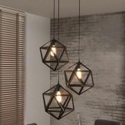 LUMZ Hanglamp van gepoedercoat metaal