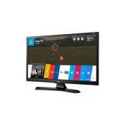 Smart TV Monitor 28 LED LG, Preta, 28MT49S-OS, Wi-Fi, USB