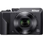 Nikon A1000 schwarz Digitale camera 16 Mpix Zoom optisch: 35 x Zwart Elektronische zoeker, Touch-screen