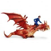 Merkloos Plastic vliegende draken 19,5 cm