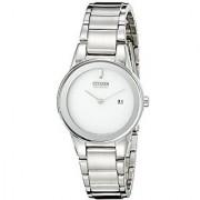 Citizen Analog Silver Round Women's Watch-GA1050-51A