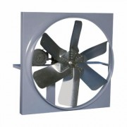 Canarm Belt Drive Wall Exhaust Fan with Cabinet, Back Guard and Shutter - 24 Inch, 7,207 CFM, 3-Phase, Model XB24CBS30100M