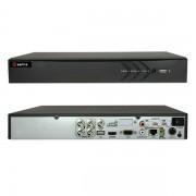 DVR 4 CANALI IBRIDO 5 IN 1 TURBO HD 4MEGAPIXEL A 12FPS HTVR61-VISHTVR6104-HEVC