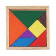 Madera Rompecabezas Tridimensional De Juguetes De Madera Educativos Junta DIY Niños Bebe, Color Al Azar Entrega