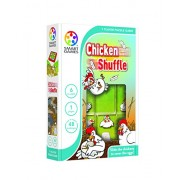 Chicken Shuffle, 1 Player Puzzle Game Made by Smart Games. Slide the Chickens to Cover the Hens by SmartGames