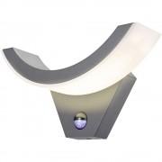 LED vanjska zidna svjetiljka s alarmom pokreta 9 W toplo-bijela Esotec SwingLine 201142 antracit