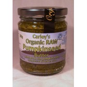 Unt din seminte de dovleac raw bio 250g Carley's Organic Foods