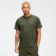 Mp T-shirt in tricot con doppia fascia - Verde militare - S