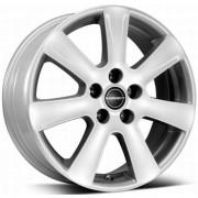 Janta aliaj Borbet CA Crystal Silver 6.5x15 4/100 ET 45