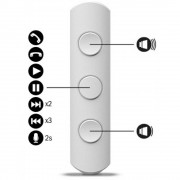 JAYS a-JAYS Five In-Ear Earphones - слушалки за мобилни устройства (бял)