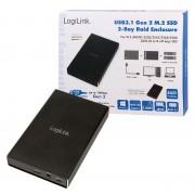 Logilink External HDD enclosure M.2 USB 3.1 Gen2 2-bay RAID UA0297