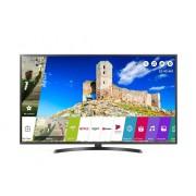 Televizor LED LG 55UK6470PLC, 139 cm, Smart TV, 4K Ultra HD, Bluetooth, Wi-Fi, Sunet stereo, Clasa energetica A+, Negru