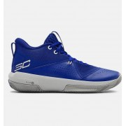 Under Armour Adult UA SC 3ZER0 IV Basketball Shoes Blue 40.5