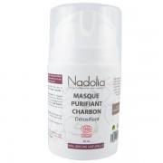 Nadolia Masque Purifiant Bio Charbon 50 ml – Détoxifiant*