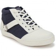 Men's Blue & White Lace-up Outdoors