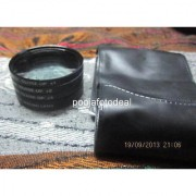 55mm close up lens filter kit +1 +2 +4 +10 macro for sony alpha 18-55mm 55mm