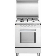 GLEM U55BXF3 LINEA UNICA cucina bianca 53X50, forno multifunzione gas ventilato