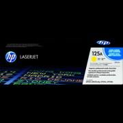 HP 125A Yellow LaserJet Toner Cartridge (Yellow)