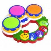 Jucarie interactiva omida cu sunete si lumini multicolora 16 melodii varsta 18 luni+