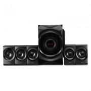 Philips IN - SPA8000B/94 125 W Bluetooth Home Audio Speaker (Black, 5.1 Channel)