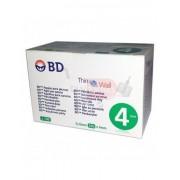 Becton, Dickinson And Company Bd Thinwall 4mm 32g - 100 Aghi Sterili Per Penna Da Insulina