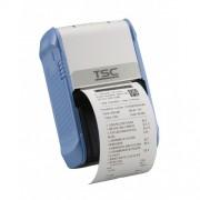 Imprimanta mobila de etichete TSC Alpha-2R, Bluetooth, alba