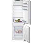 Siemens iQ300 KI86NVF30G Static Integrated Fridge Freezer - White
