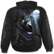 kapucnis pulóver férfi - UNFORGIVEN - SPIRAL - K055M451