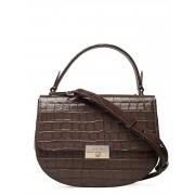 Decadent June Small Top Handle Bags Small Shoulder Bags - Crossbody Bags Brun Decadent
