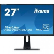 Iiyama LED monitor Iiyama ProLite XB2783HSU, 68.6 cm (27 palec),1920 x 1080 px 4 ms, AMVA+ LED HDMI™, DisplayPort, VGA, USB 2.0, na sluchátka (jack 3,5 mm)