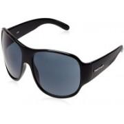 Fastrack Wrap-around Sunglasses(Grey)