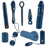 Midnight Blue - vibrátoros készlet (9 részes)